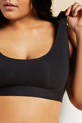 Plush elastic underband provides light support and total comfort [Brittney 36D]