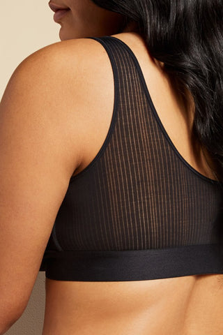 Thumbnail image #6 of Whipped Bra Top in Black [Brittney 36D]
