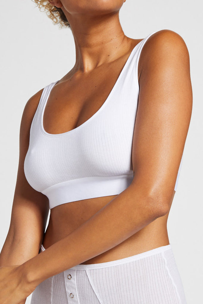 Product photo #5 of Whipped Bra Top in White [Jackie 32D]