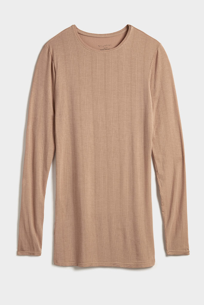 Whipped Long Sleeve in Buff