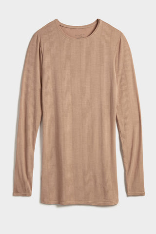 Thumbnail image #5 of Whipped Long Sleeve in Buff