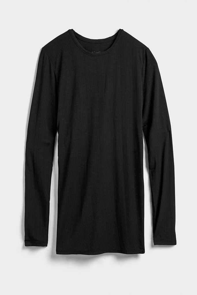 Whipped Long Sleeve in Black