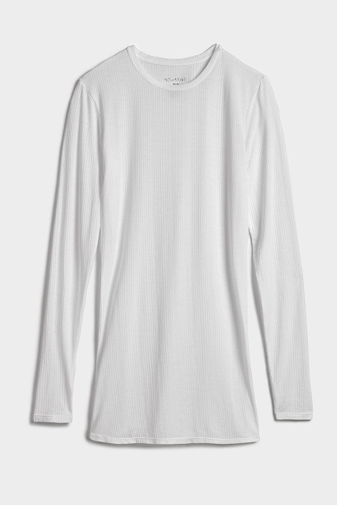 Whipped Long Sleeve in White