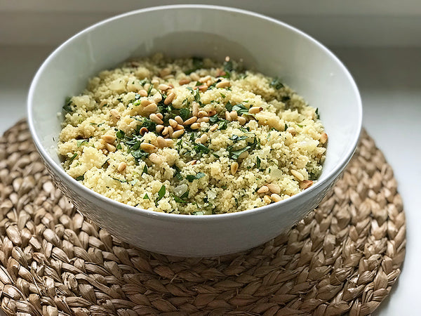 Ina Garten's Couscous with Toasted Pine Nuts