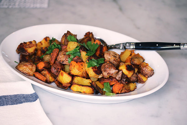 Ina Garten's Crispy English Potatoes