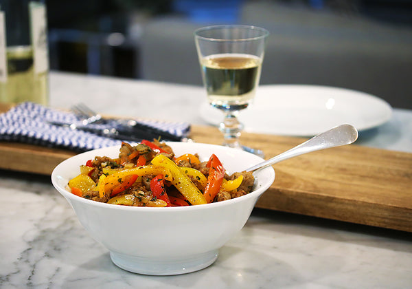 Ina Garten's Sauteed  Onions & Peppers
