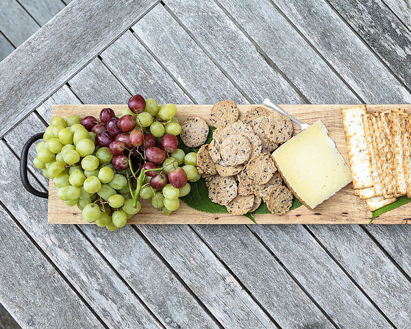 Fruit and Cheese on a Feasting Board