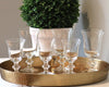 Ina Garten favorite La Rochere Amitie Glassware on a serving dish