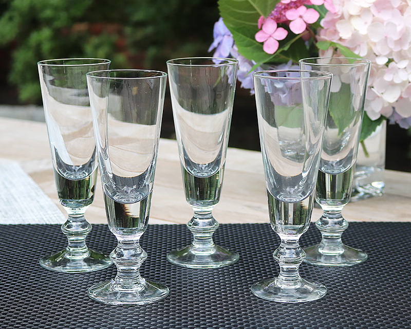 La Rochere Antoine Glassware set of 6 champagne flutes