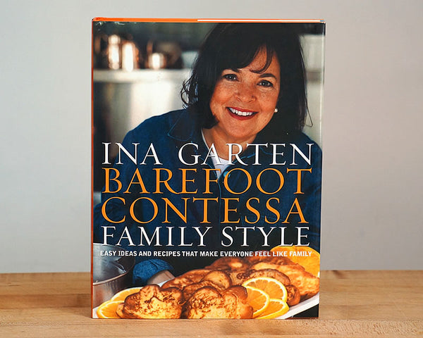 Barefoot Contessa Family Style Cookbook (Autographed by Ina Garten)