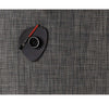 Rectangle Basketweave Placemat - Carbon