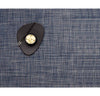 Rectangle Basketweave Placemat - Denim