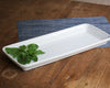 Buffet Presentation Tray is a large oversized piece that's great for serving quantities for a party or a holiday dinner.