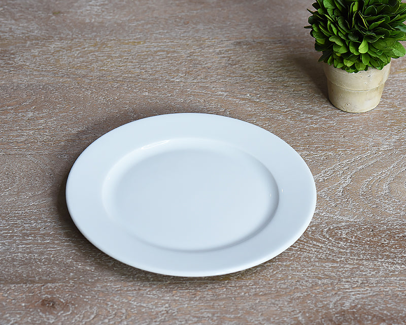 White dessert plate from Pillivuyt