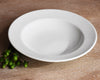 White Dinnerware - 5pc set