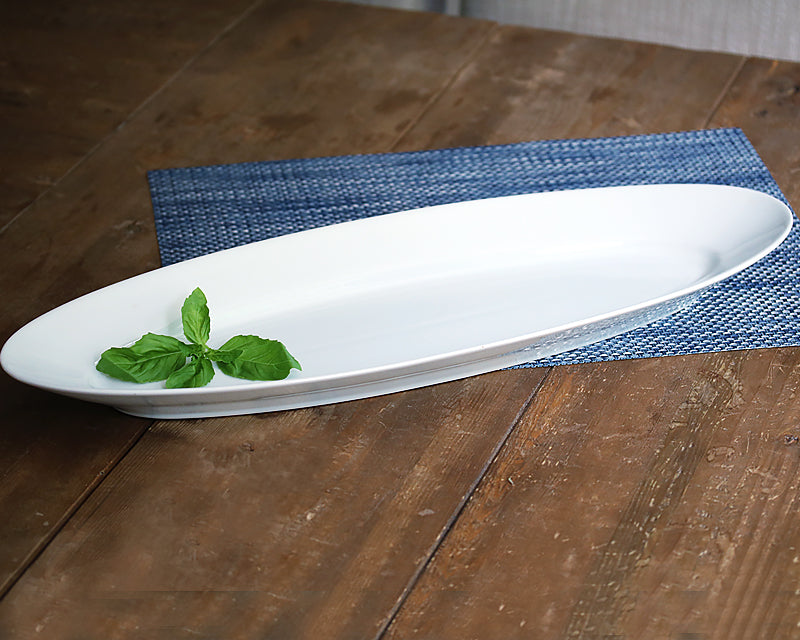 Oblong Fish Platter by Pillivuy.