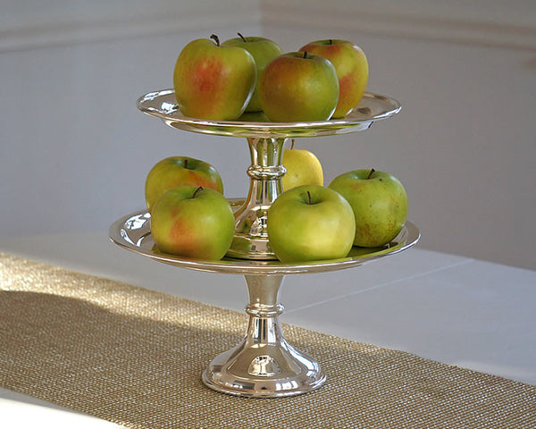 HOTEL Silver Cake Stands