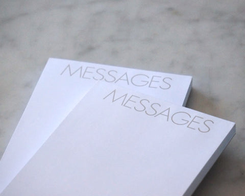 Messages Pad (set of two)