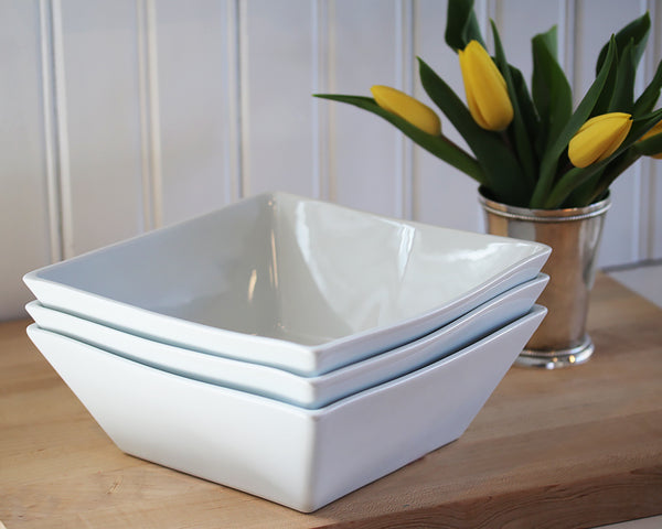 White Quartet Bowl