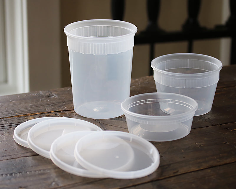 Ina Garten recommended clear plastic containers set of 5