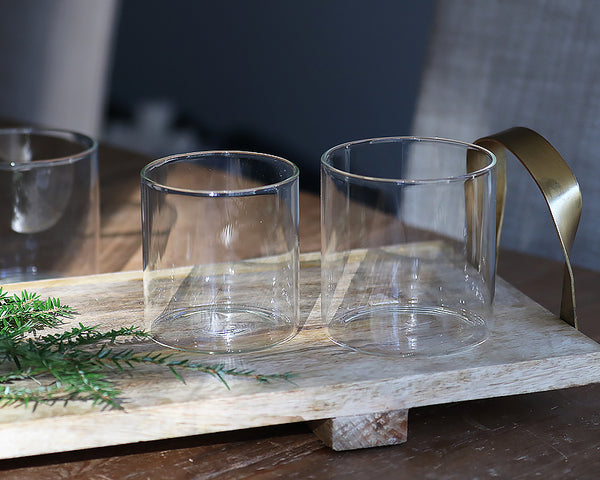 Simple Glassware - Set of 6