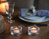 Glass Tealights - Set of 2