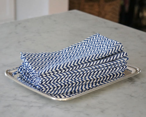 Zig Zag Napkins (set of 4)