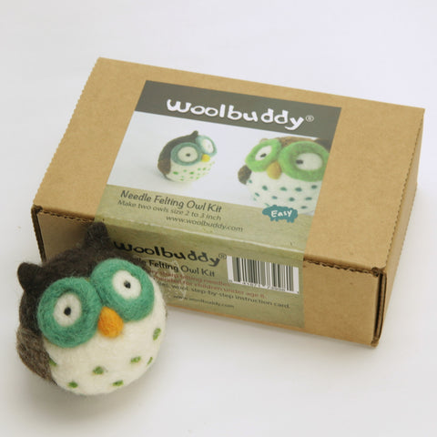 Needle Felting Owl Kit (K)