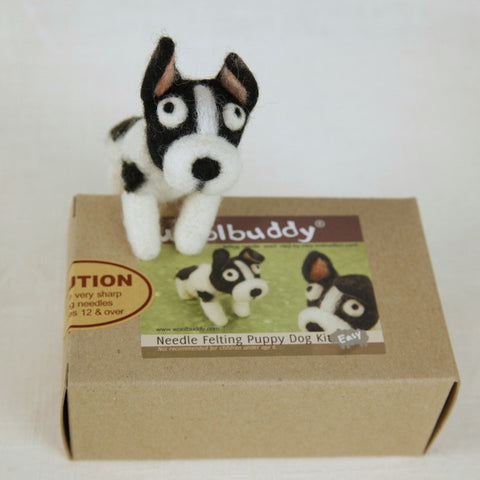 Needle Felting Puppy Dog Kit