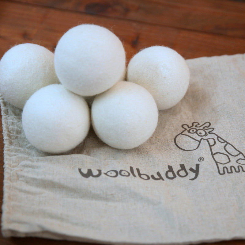 Wool Dryer Balls 5-pack