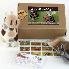 Needle Felting Giraffe Kit (K)