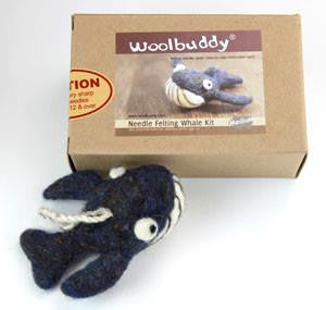 Needle Felting Whale Kit