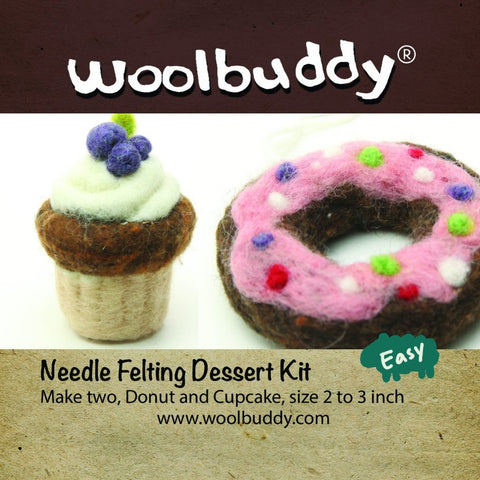 Needle Felting Dessert Kit