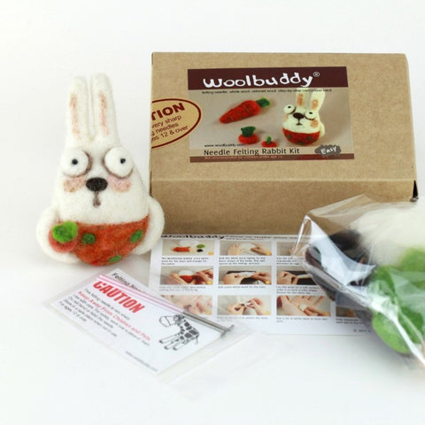 Needle Felting Rabbit Kit (K)