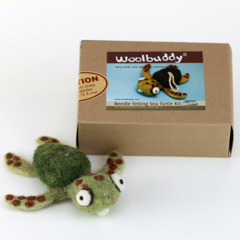 Needle Felting Sea Turtle Kit (K)