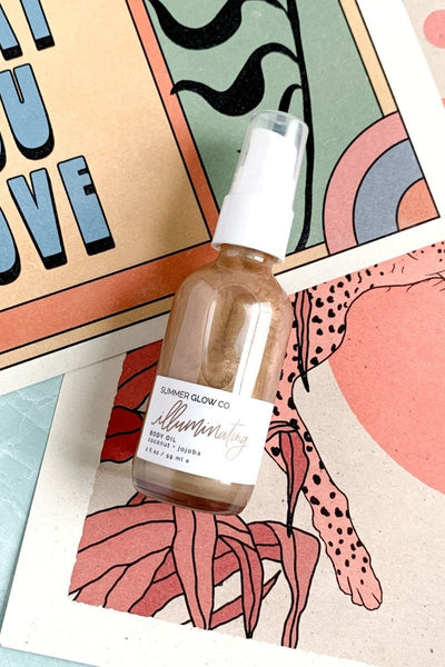 Illuminating Body Oil - Bronze
