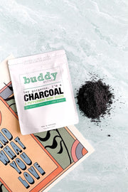Charcoal Peppermint Body Scrub
