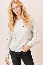 Cosmos Star Embroidered Sweater