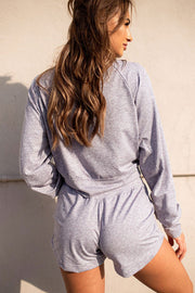 Wild and Free Pullover - Heather Grey