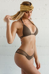 Newport Bottom - Olive-Bottoms-Beach Babe Swimwear