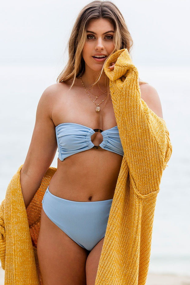 High Tide Periwinkle Bikini Bottom