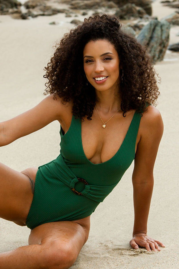 Turks Emerald One-Piece Swimsuit