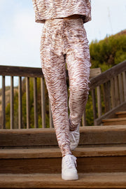 Wild and Free Jogger - Natural Zebra