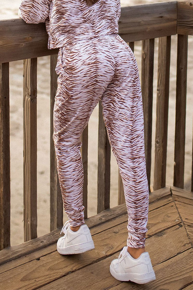 Wild and Free Natural Zebra Jogger