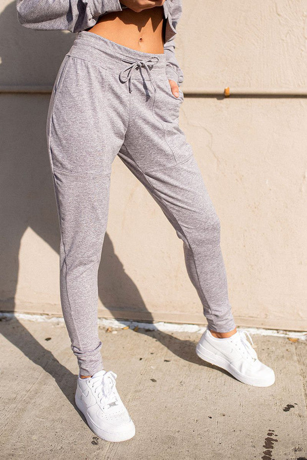 Wild and Free Jogger - Heather Grey