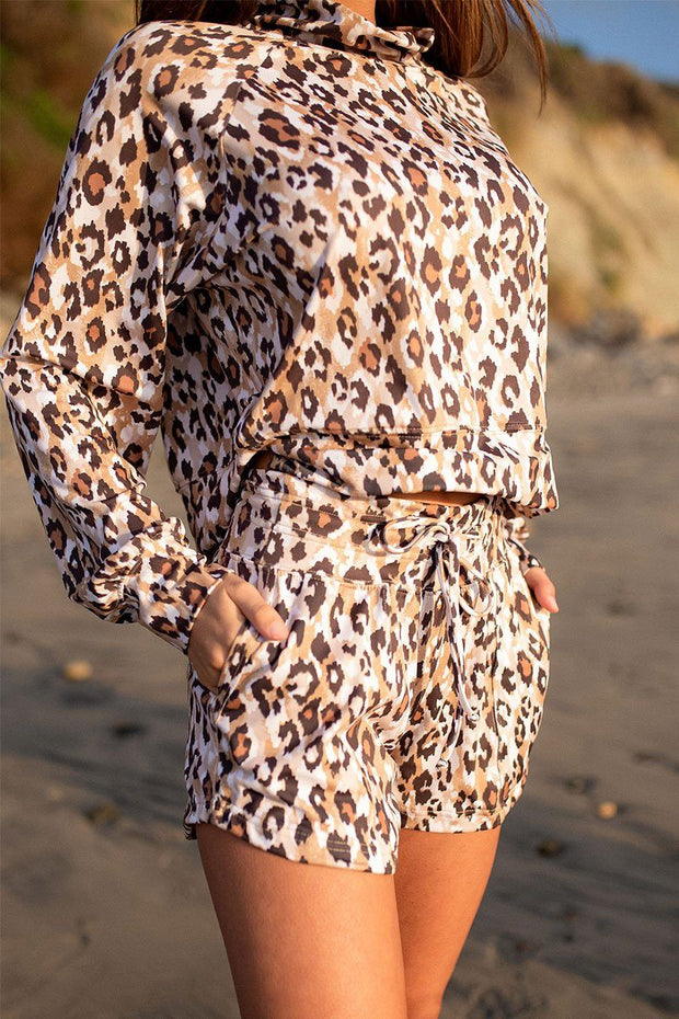 Wild and Free Shortie - Leopard