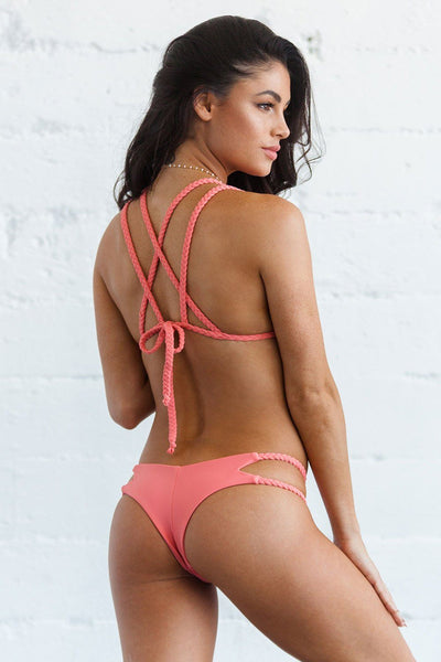 Orabella Bottom - Peachy Keen - Beach Babe Swimwear