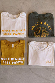 More Bikinis Less Pants® - Cream Crop