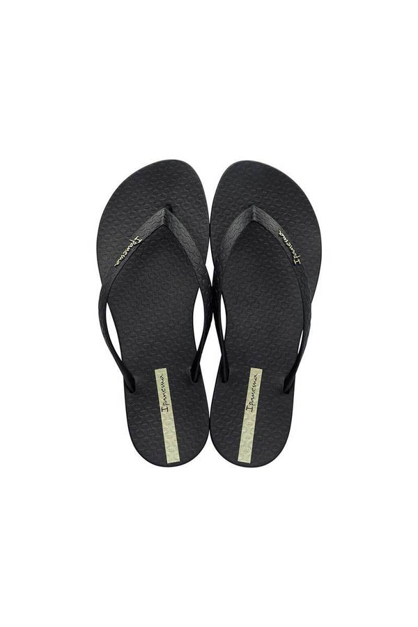 Ipanema Wave Essence Flip Flop - Black - Beach Babe Swimwear