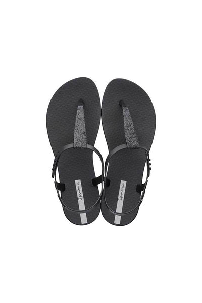 Ipanema Shimmer Sandal - Black - Beach Babe Swimwear